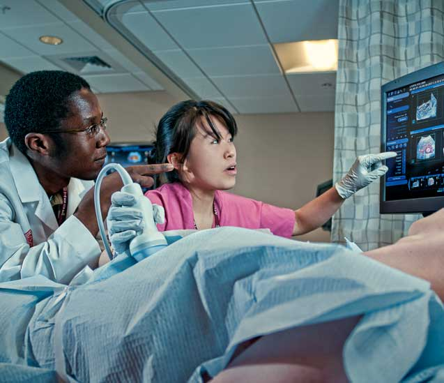 Diagnostic Medical Sonography students.