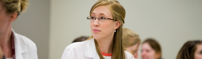 MCPHS Manchester student