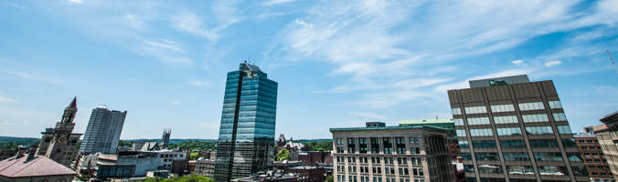 City of Worcester skyline