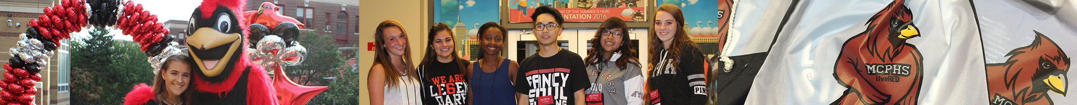 Students at MCPHS 2016 Orientation