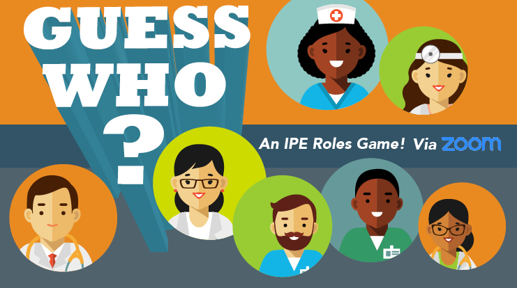 Graphic of Poster for the IPE Guess Who event.