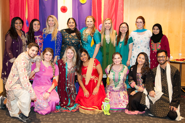 Indian Student Organization hosting a Diwali Celebration.