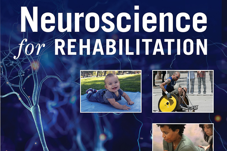 Inset of cover, Neuroscience for Rehabilitation.