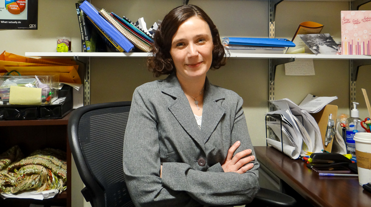 Dr. Amanda Kentner, Associate Professor of Psychology, School of Arts and Sciences