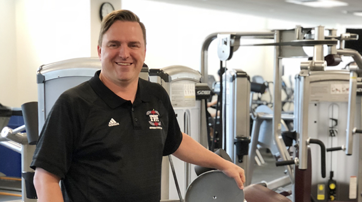 Mike Williams, Director of Fitness and Recreation.