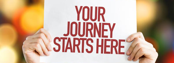 Your Journey Starts Here Banner