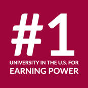 #1 University in the U.S. for Earning Power