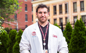 MCPHS Physical Therapy student Scott.