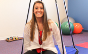 MCPHS Occupational Therapy Student Sarah Neuhaus